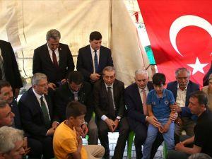 AK Parti Genel Başkan adayı Yıldırım, Diyarbakır'da