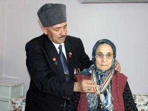 Kore gazisine vefatından 31 yıl sonra şeref madalyası
