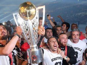 Beşiktaş şampiyonluğunu kutladı