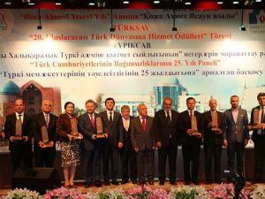 TÜRKSAV'ın Türk Dünyasına Hizmet Ödülleri sahiplerini buldu