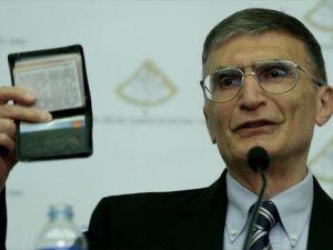 Prof. Sancar'a TBTK Şeref Üyeliği beratı