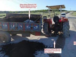 Diyarbakır'da patlayıcı yüklü traktör ele geçirildi