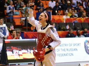 Tekvandoda milli sporcu İrem Yaman altın madalya kazandı