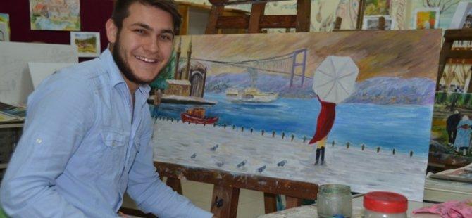 Seydişehir'de7 den 70'e engelli engelsiz resim sergisi açılıyor