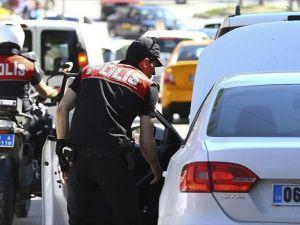 Başkentte 7 bin 286 kişi ve 2 bin 59 araç sorgulandı