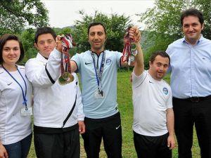 Down sendromlu milli atletlerin hedefi Avrupa şampiyonluğu