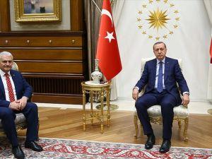 Cumhurbaşkanı Erdoğan hükümeti kurma görevini Yıldırım'a verdi