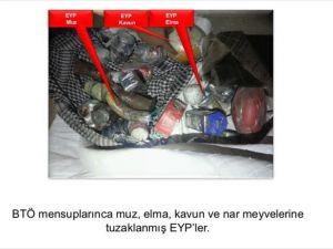 PKK meyvelere bile patlayıcı tuzaklamış