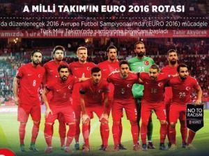A Milli Takım'ın EURO 2016 rotası