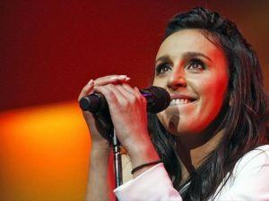 Kırımlı Tatar sanatçı Jamala Kiev'de konser verdi