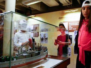 Müzedeki gemilere büyük ilgi