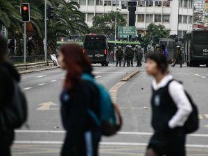 Şili'de öğrencilerden eğitimde reform eylemi