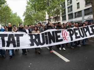 Fransa'da rafineriden sonra nükleer santralde grev