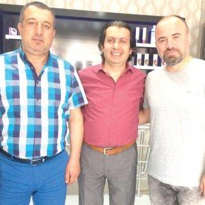 Mevlüt Çapan ve Fatih Ceylan Prestij Kuaför'de