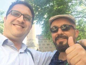 Eski dostlar Bursa'da hasret gidermiş