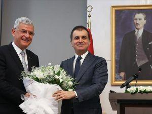 Ömer Çelik görevi Volkan Bozkır'dan devraldı