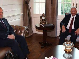 Başbakan, Hacımüftüoğlu'nu kabul etti