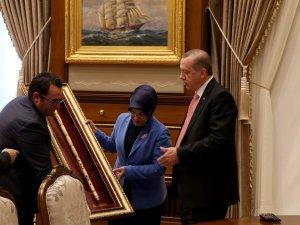 Cumhurbaşkanı Erdoğan Fatma Toru'yu kabul etti