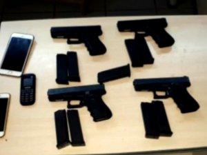 Silah kaçakçılığı operasyonu  yapıldı