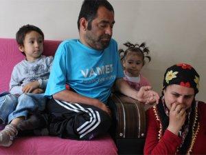 Engelli çiftten, çocukları için yardım çığlığı