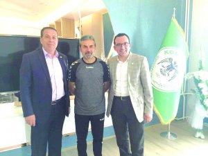 Mustafa İbalı ve Hüsnü Öztürk Aykut Hoca ile