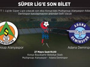 Süper Lig'e son bileti alacak takım belli oluyor