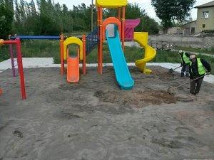 Seydişehir'e mahalle parkları yapılıyor