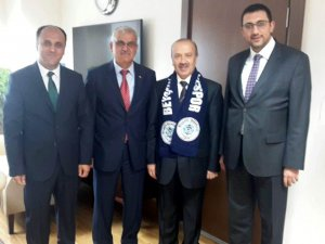 Başkan Özaltun Genel Müdürleri ziyaret etti