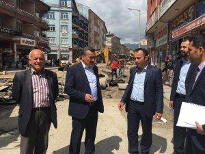 Seydişehir'de altyapı çalışmaları sürüyor