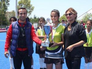 Osmaniye'de çim hokeyi şampiyonası yapıldı