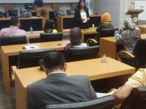 Belediye çalışanlarına sağlıklı beslenme semineri