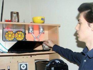 Liseli öğrencinden yeni soğutma sistemi
