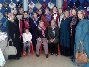"""Seydişehir'de """"ev tekstil ürünleri sergisi"""" açıldı"""
