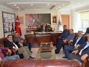 Belediye başkanlarından Kulu'ya ziyaret