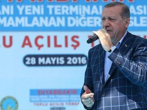 Cumhurbaşkanı Erdoğan: Amerika'nın PYD'ye, YPG'ye verdiği desteği kınıyorum