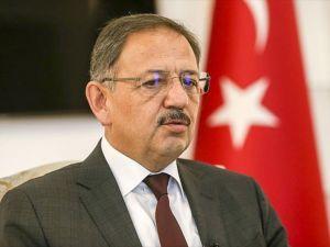 Çevre ve Şehircilik Bakanı Özhaseki: Sur'da rastgele yapılaşmaya izin verilmeyecek