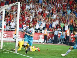 Türkiye Karadağ ile oynadığı hazırlık maçını kazandı