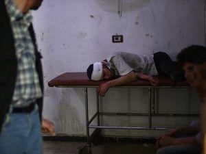 Halep'teki sahra hastaneleri zor durumda