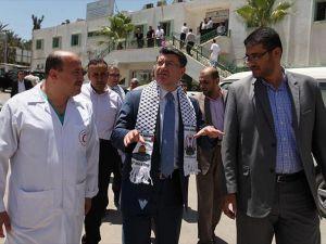 Türkiye'den Gazze'deki sağlık sektörüne destek