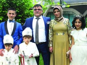 Olgun ailesinde sünnet düğünü heyecanı