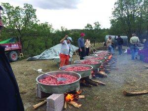 Hatunsaray Köy Şenliğinde gelenekler yaşatıldı