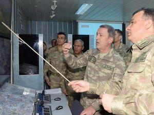 Genelkurmay Başkanı Akar operasyon bölgesinde