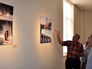 Kurşunlu Camisi'nin fotoğraflarının yer aldığı sergi açıldı