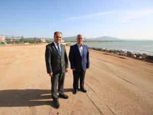 Beyşehir Belediyesi'nden çocuklara özel plaj