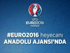 EURO 2016 AA'dan takip edilecek