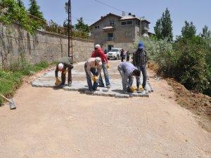 Seydişehir'de bozuk yollar düzeltiliyor