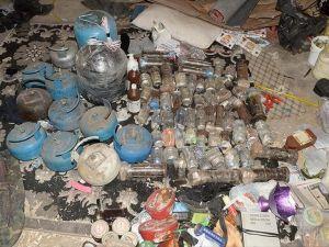 Şırnak'ta bir evde 84 patlayıcı bulundu