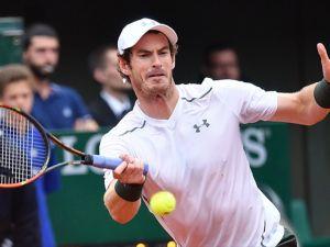 Fransa Açık'ta tek erkeklerde ikinci finalist Murray