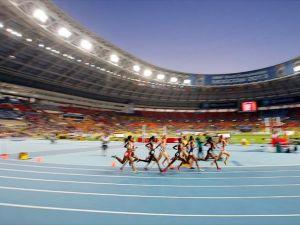 Atletizmde 10 bin metre heyecanı
