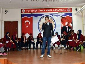 Fetihkent İHO'da tasavvuf konseri